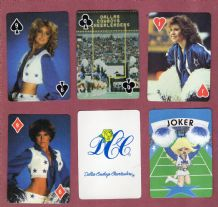 Collectible  playing cards Dallas Cowboys Cheerleaders1982